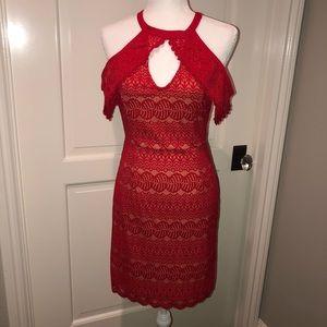 FRANCESCA'S  Cold Shoulder Lace Dress